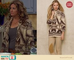 Canada Goose kids replica store - Kristin's grey and black patterned blazer on Last Man Standing ...