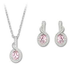 SWAROVSKI TYRA SET 1179736   Duty Free Crystal Swarovski Jewelry, Swarovski  Crystals, Simple Jewelry 78939e4ccb5b