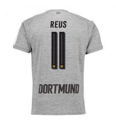 Billiga Dortmund Marco Reus 11 Tredje Tröja 17-18 Kortärmad Manchester United, Mens Tops, T Shirt, Soccer, Marco Reus, Goaltender, Football Soccer, Supreme T Shirt, Tee Shirt