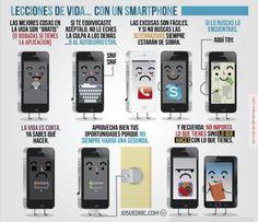 Lecciones de vida con un #smartphone