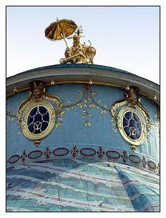 08.09.02.14.33 Potsdam, Park Sanssouci, Chinesischer Pavillon, Johann Gottfried Büring West Berlin, Royal Residence, Baroque Architecture, Western Art, Park, My Happy Place, Big Ben, Tea Houses, Castle