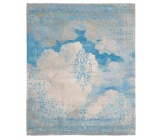 Heiter bis bewölkt | Cloud 1 by Jan Kath | Rugs / Designer rugs