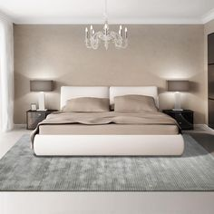 Discover the Ultimate Master Bedroom Styles and Inspirations Master bedrooms, minimalistic bedrooms, luxury bedrooms and everything bedroom related with a variety of choices that will fit any modern, rustic or vintage home for a great nights sleep. Luxury Bedroom Design, Master Bedroom Design, Home Decor Bedroom, Bedroom Ideas, Bedroom Furniture, Bedroom Inspo, Interior Design, Home Design, Modern Furniture