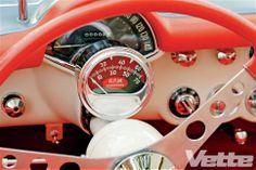 1955 Chevrolet Corvette The Privateer Restored Rev Counter