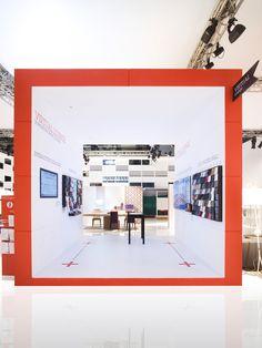 Calligaris stand Salone Del Mobile 2013 Nascent Design Milan