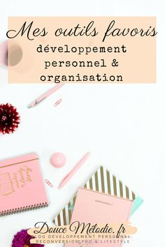 outils developpement personnel