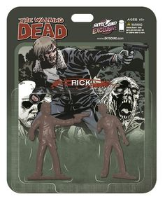 2013 SDCC Exclusive Walking Dead Merchandise - McFarlane - Action Figures Toys News ToyNewsI.com