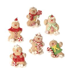RAZ Chocolate Moose 3 inch Gingerbread Ornament  shelley b home and holiday
