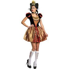 Adult Movie Alice in Wonderland Sexy Red Queen Costume