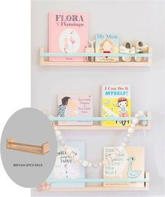 12 ways to use IKEA's Bekvam spice racks throughout the home – Samantha Fashion Life - DIY Kinderzimmer Ideen Cool Shelves, Ikea Shelves, Kids Book Shelves, Ikea Spice Racks As Book Shelves, Ikea Book Rack, Ikea Kids Bookshelf, Spice Rack Bookshelves, Baby Bookshelf, Bookshelf Ideas