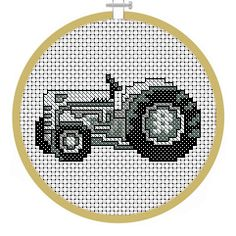 Tractor - PDF Cross Stitch Patterns - Instant Download
