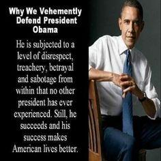 Vehemently Defend Pres Obama