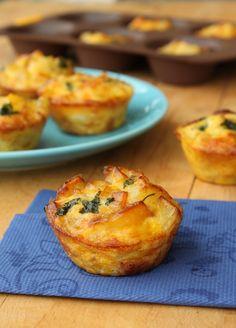 Muffin frittata con patate e provola |CuciniAmo con Chicca