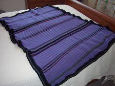 Purple Afghan via Etsy  $45.00