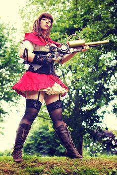 Little Red Riding Hood - Steampunked II by *Majin-sama on deviantART