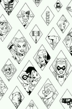 Harley Quinn And Joker Coloring Pages Cute Coloring Pages