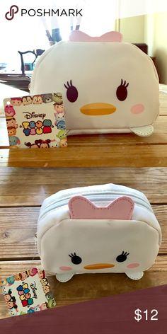 Small Makeup Bag Brand New Tsum Tsum makeup bag. New w/tags! Disney Bags Mini Bags
