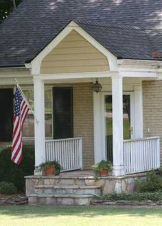 front porch designs | Small porch with great appeal