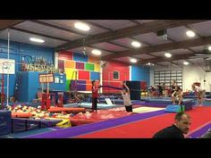 Adult Gymnastics - Front Tuck Contest - YouTube