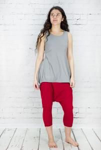 Harem #trousers - 95% cotton 5% elastane pull on - very easy to wear - light weight ideal for summer. Washable at 30.