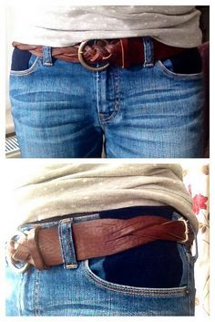 Add a panel of elastication at the pockets of your jeans to make the waistband 100% more comfortable.
