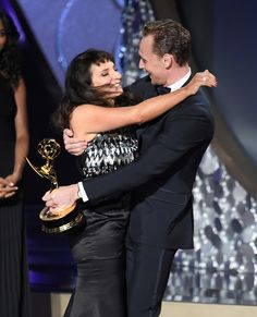Director Susanne Bier accepts Outstanding Directing for a Limited Series, Movie…