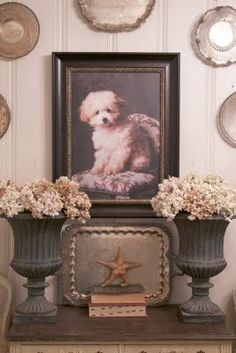 FRENCH COUNTRY COTTAGE: PUPPY LOVE