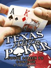 Texas Holdem Poker 240x320 touch Java Mobile Game