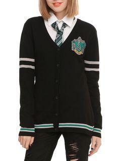 Harry Potter Slytherin Girls Cardigan   Hot Topic
