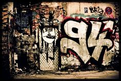 The graffitied wall of the Abandoned House. ( Art to me ❤️)