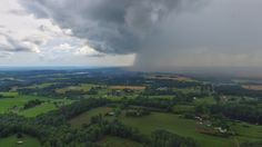 Afternoon downpour over Cullman County... photo from @elas2k