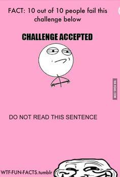 Lol. I failed.