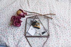 Lust Affair: Glass Pyramid Jewelry Box