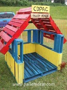 Cute Pallet Furniture Ideas for Kids