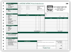Invoice On Cars Excel  Landscaping Work Orderinvoice Form  Landscaping Forms  What Can I Claim On Tax Without Receipts Excel with Template Of Invoice In Word Pdf  Landscaping Work Orderinvoice Form Accounting Invoice Template