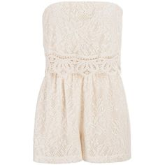 maurices Romper In Floral Lace featuring polyvore, fashion, clothing, jumpsuits, rompers, romper, dresses, jumpsuit, playsuits, rompers/jumpsuits, sweet cream, lace romper, lace jumpsuit, jump suit, romper jumpsuit and pink lace romper