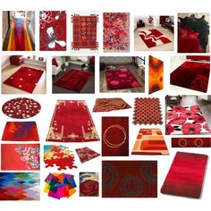 Red Red Rug, created by leiastyle on Polyvore