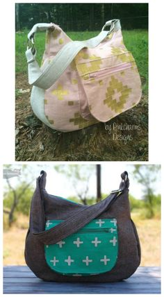 d6d5cddb54954 Hobo bag sewing pattern. This bag looks smart but casual, and is roomy on