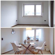 Home Staging Esszimmer Vorher/Nachher