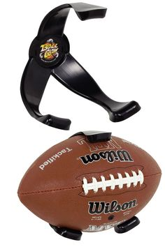 Football Ball Claw: Mount Footballs To The Wall For Storage, Organization Or Display Purposes.