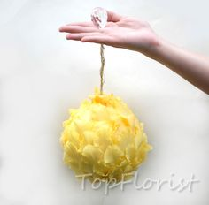 bridal bouquet - the ball