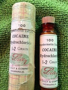 """Life in Moments on Twitter: """"Cocaine Hydrochloride tablets used for the common cold, 1906.… """""""