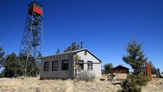 Gila National Forest fire tower