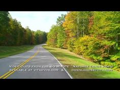 "Why not exercise tomorrow on the scenic Natchez Trace Parkway?  Starting at the northern entrance below Nashville and going all the way to the southern terminus outside of Natchez, Mississippi, this 60 minute Virtual Scenery Video will help make the time spent exercising on a treadmill or exercise bike ""fly by.""  You'll exercise longer and enjoy every minute! This 60 minute video is available as a DVD at vitadvds.com  or as a 720p HD Download at  downloadsbyvita.com."