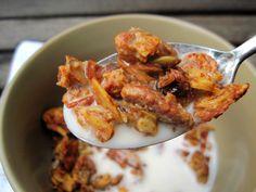 Pumpkin Granola | PaleOMG - Paleo Recipe