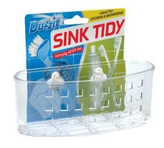 Duzzit Sink Tidy - Ideal for Kitchens & Bathrooms:Amazon.co.uk:Kitchen & Home