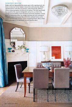 beautiful dining room / Domino