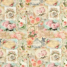 Country Rose Small - Baumwolle - rosa