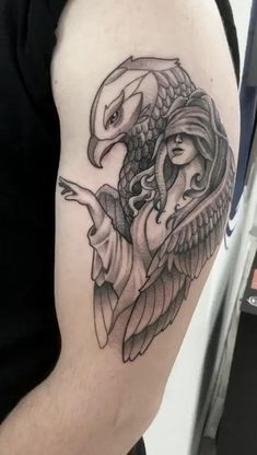 Badass Tattoos, Mom Tattoos, Body Art Tattoos, Tattoos For Guys, Tattoos For Women, Half Sleeve Tattoos Drawings, Arm Sleeve Tattoos, Witch Tattoo, Raven Tattoo