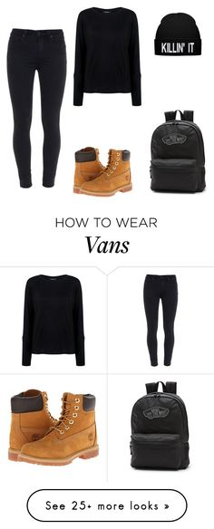 """My style"" by carina-bozieru on Polyvore featuring mode, Timberland, Paige Denim, Pink Tartan et Vans"